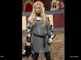 Emilia Fox as Morgana's Half-sister, Morgause