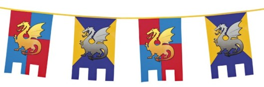 knights-dragons-bunting