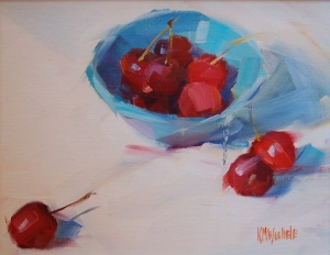"Kathy Wochele--""Cherries "" 8x10"